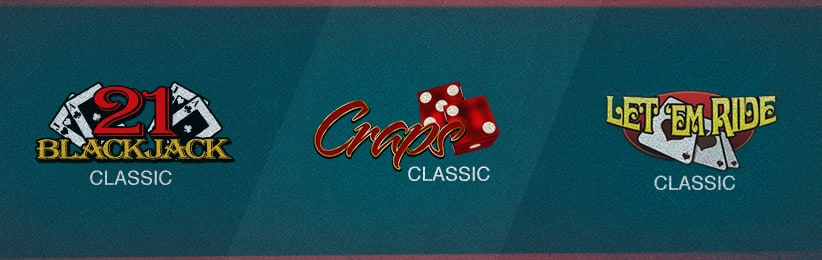 Classic Casino Games Overview - Ignition Casino