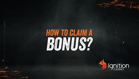 Claim a bonus